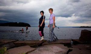 Lesbian couple save Norwegian victims