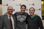Ronnie Kroell with GLAAD DC Leadership Council Members Jamie McGonnigal and Sean Carlson