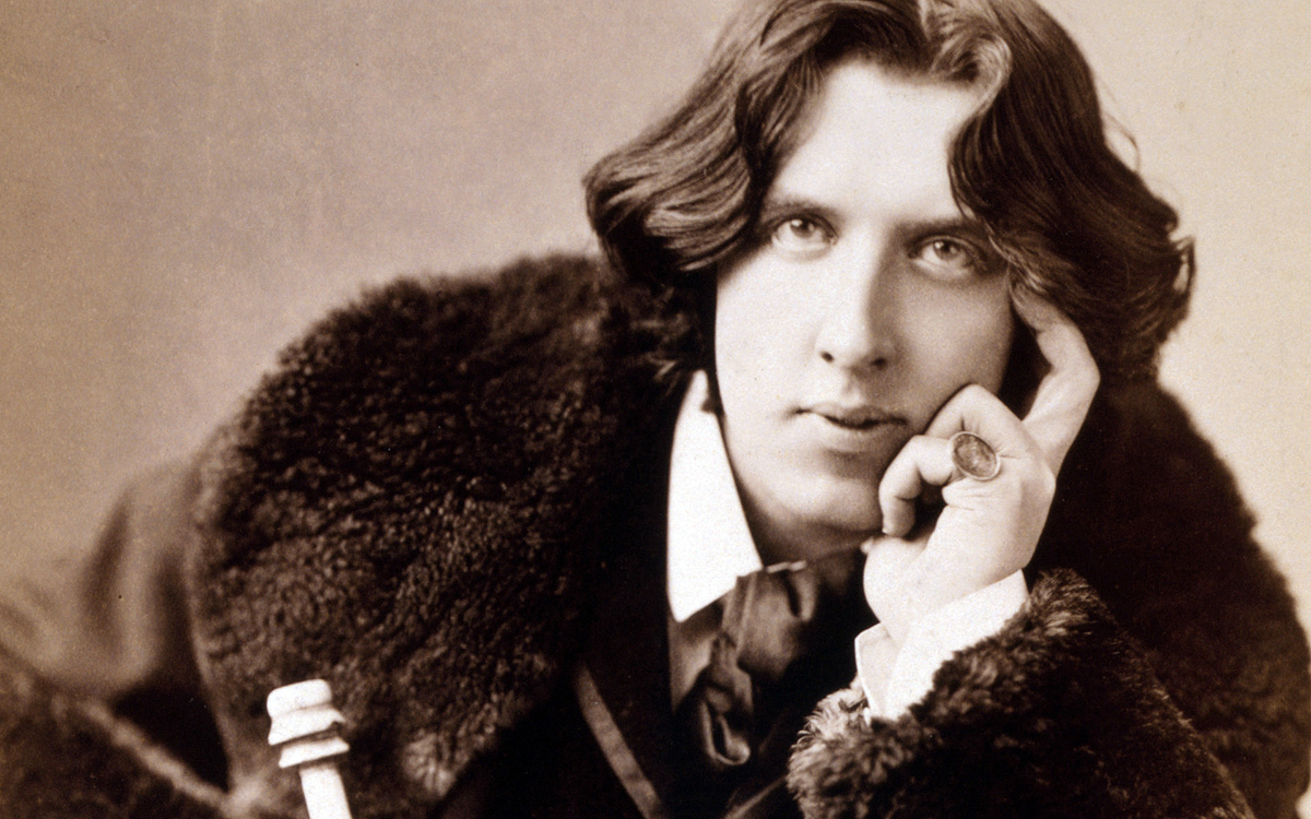 Oscar Wilde picture from 'Talk About Quality' on WordPress