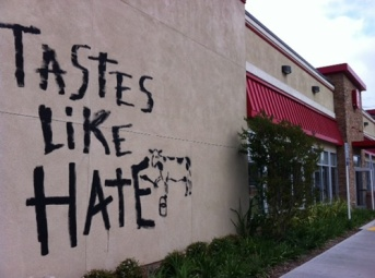chick-fil-a-torrance-california-vandalized
