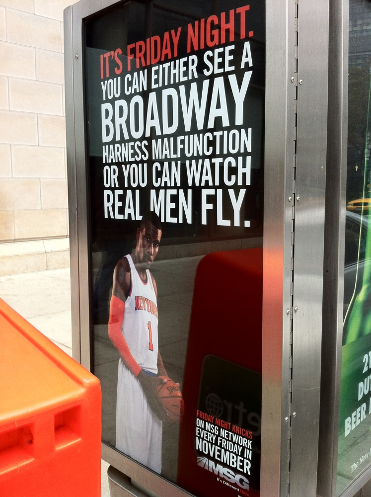 Madison Square Garden Apologizes, Pulls Homophobic Ads