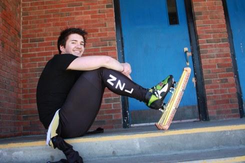 Openly Gay Olympic New Zealand Speed Skater Blake Skjellerup