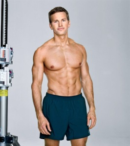 Rep. Aaron Schock (R-IL) poses for Men's Health